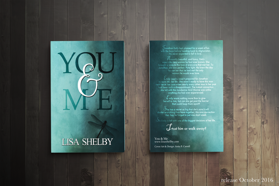 You & Me Book Cover Front Back